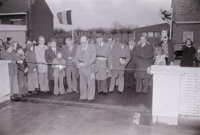 Ingebruikname gemeenteschool Staden, februari 1975