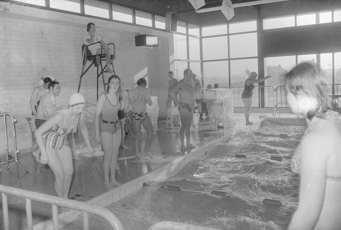 Zwemmarathon Moorslede, februari 1975