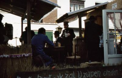 Tap en Torrestoet Dadizele: kar met café; 15 mei 1983