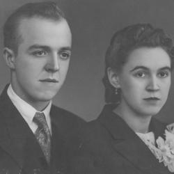 Huwelijksfoto Florent Eeckhout en Yvonne Vermote