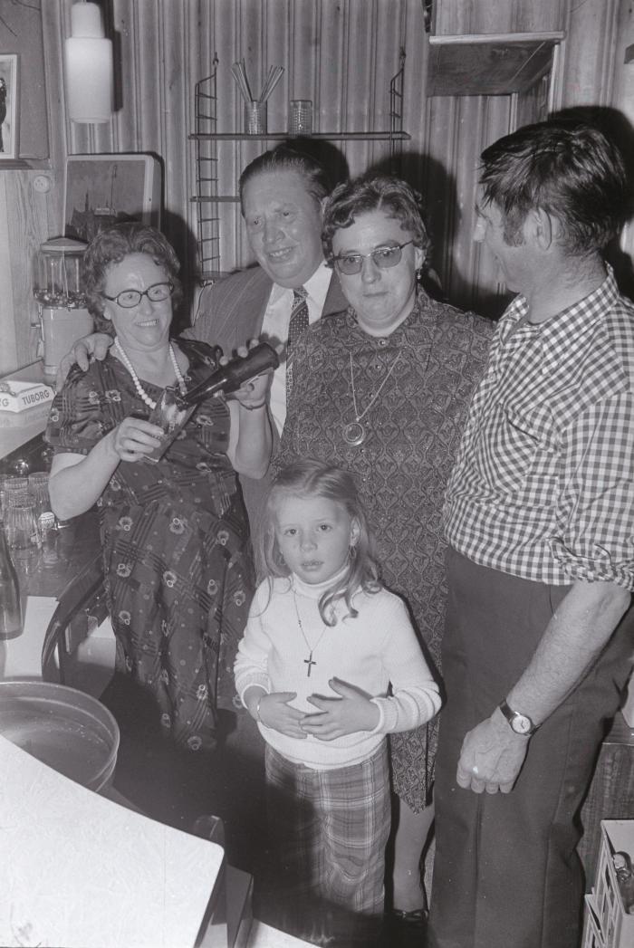 Afscheid van Germaine uit Bossa-Nova, Moorslede januari 1975