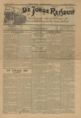 De Jonge Reisduif, 24 december 1948
