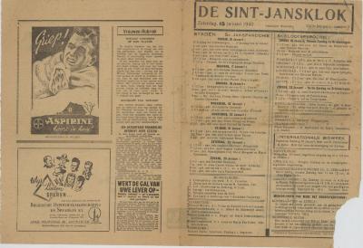 De Sint-Jansklok, Staden, 15 januari 1949
