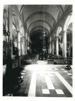 St. Amandskerk, Ingelmunster, koor, zijaltaar