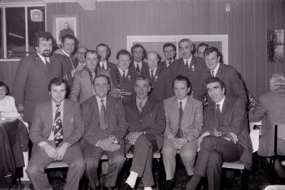 Koninklijke harmonie van Slypskapelle vier St.-Cecilia, Moorslede november 1974