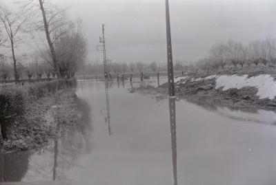 Overstroming in Moorslede, november 1974