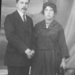 Huwelijksfoto Remi Rosselle en Pia Dejonckheere