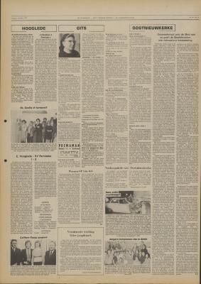 De Weekbode, 1 december 1972