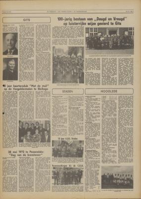 De Weekbode, 2 juni 1972
