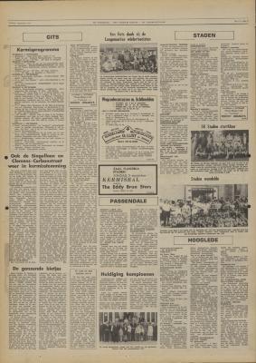 De Weekbode, 1 september 1972