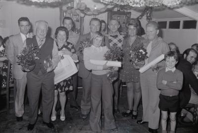 Kampioen bij 'Vrije vinkeniers Moorslede', oktober 1974