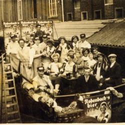 Wagen brouwerij Rodenbach batjes, 1936