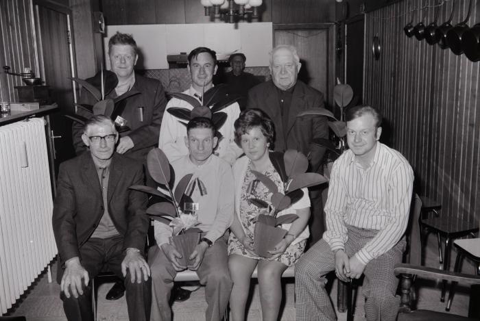 Vinkenkampioen Slypskapelle, Moorslede 1974