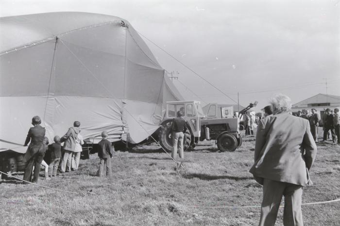 Agrarische opendeurdagen, Oostnieuwkerke september 1974