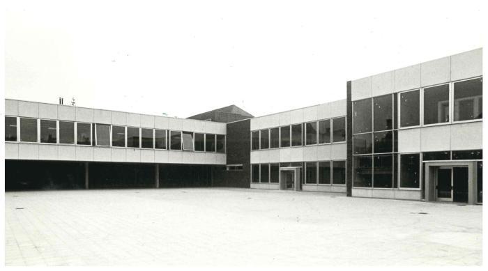 Opening nieuwe Gemeenteschool, Schoolstraat, Ingelmunster, 1978