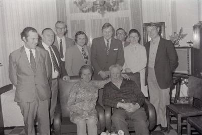 Gouden bruiloft, Moorslede juni 1974