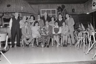 Kampioen kaarten café Rubens, Moorslede mei 1974