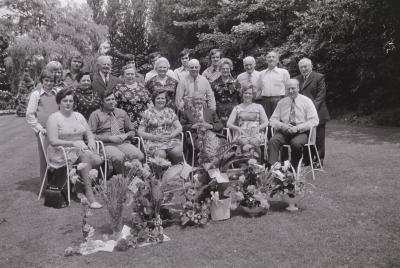 Gouden bruiloft familie Deforche, Moorslede juni 1974