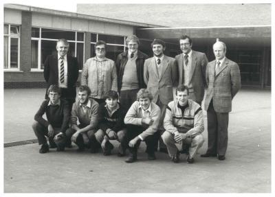 Leerkrachten, O.-L.-Vrouwschool, Ingelmunster, 1982