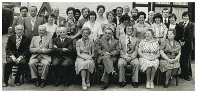 Leerkrachten Gemeenteschool 1977-1978, Ingelmunster