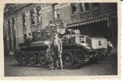 Bevrijding St - Michielsstraat, 1944