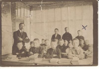 Klasfoto Burgerschool, 1917