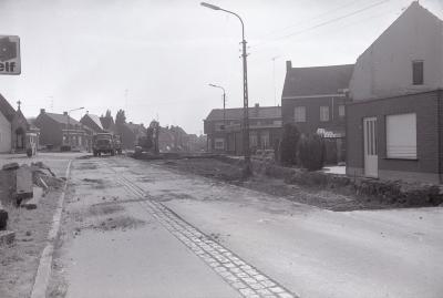 Wegenwerken, Westrozebeke september 1973