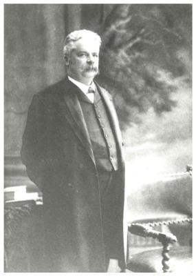 Dokter Emiel Lauwers, Ingelmunster, ca 1900
