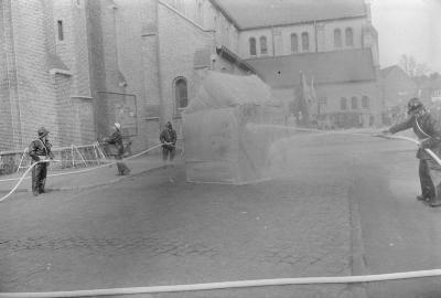 Centrumfeesten brandweer, Staden mei 1973