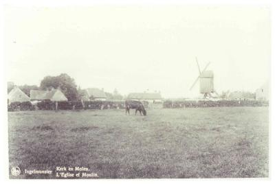 Kasteelmolen, Ingelmunster, ca 1930