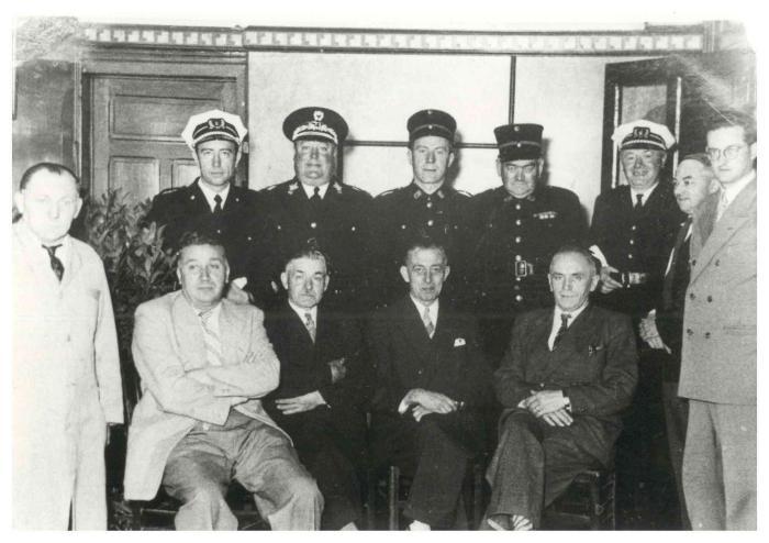 Gemeentepersoneel, Ingelmunster, ca 1950