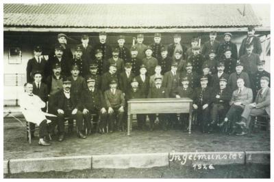 Spoorwegpersoneel, Ingelmunster, 1926