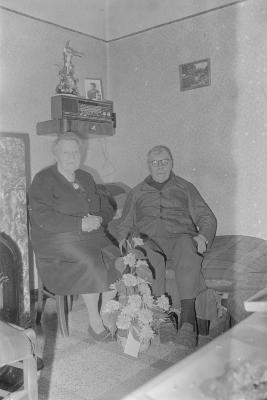 Gouden echtpaar, Moorslede april 1973