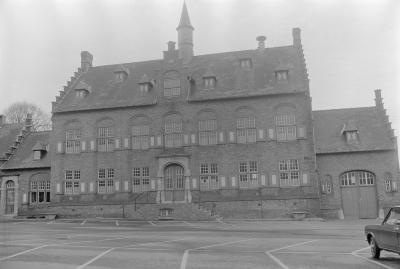 Gemeentehuis Westrozebeke, december 1972