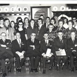 Huldiging 40 jaar radiodistributie, Roeselare, 1974