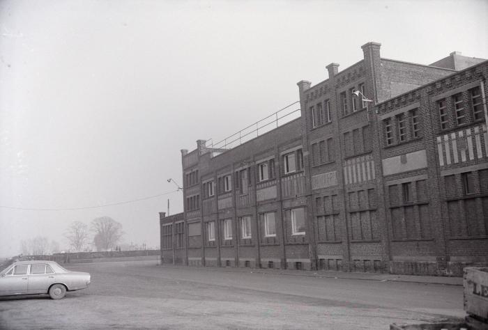 Brouwerij en visvijver, Staden januari 1973