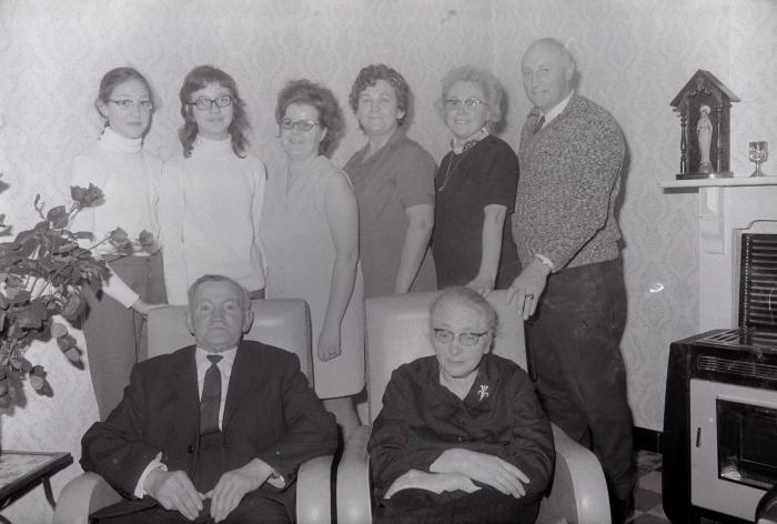 Gouden echtpaar, Moorslede december 1972
