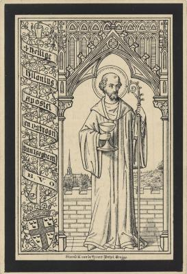 Bidprentjes, Ingelmunster, 1818