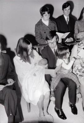 Doopsel Jeroen Vanryckeghem, Moorslede november 1972