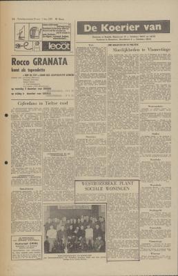 De Koerier van ..., 30 november-1 december 1968