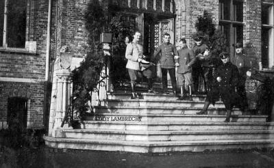 Militairen, Gits, 1916