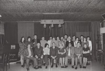 Afscheid van Paula Corneillie van De Post, Moorslede februari 1973