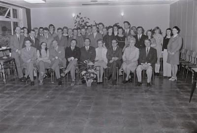 Groepsfoto (Rode Kruis?), Moorslede juli 1972