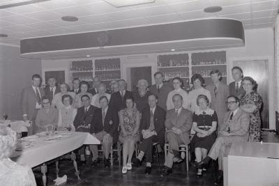 Huldiging van verdienstelijke bloedgevers, Moorslede juli 1972