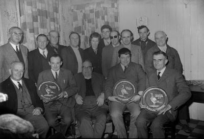 Duivenkampioenen Duran, Moorslede december 1971