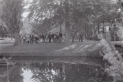 Opening wandelpad, Dadizele september 1971