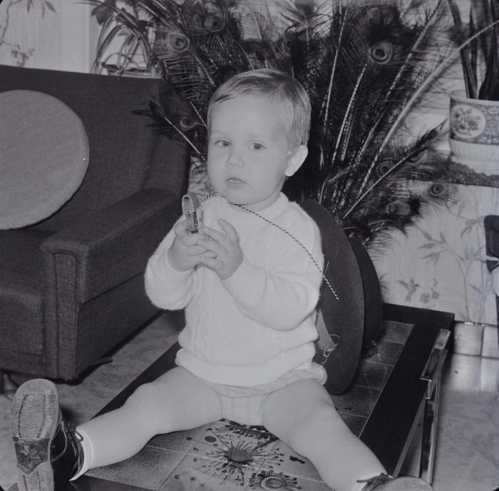 2-jarige Edward Verhaeghe, Moorslede 1970