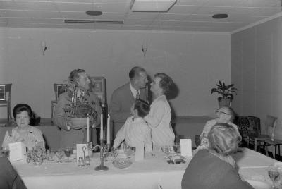 Zilveren bruiloft Albert Soen, Moorslede mei 1971