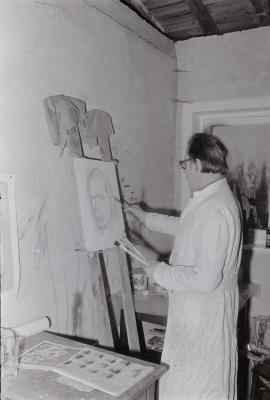 Kunstschilder F. Vandendriessche, Moorslede 1971