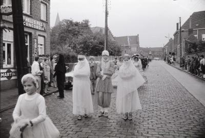 Ieperstraat kermis, Moorslede 1970